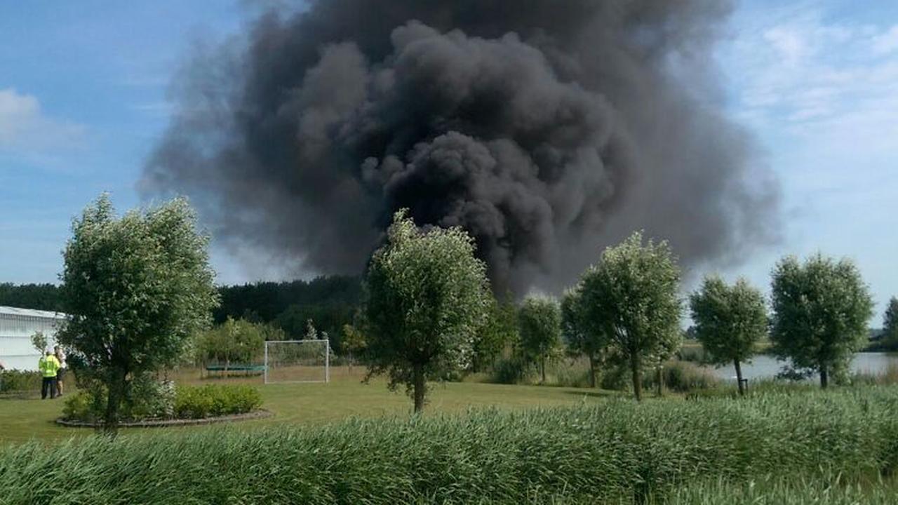 Straaljager stort neer bij vliegbasis Leeuwarden