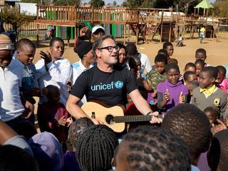 Zanger is nieuwe ambassadeur voor kinderrechtenorganisatie