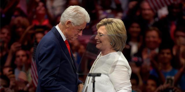 Brand bij huis van Bill en Hillary Clinton in New York