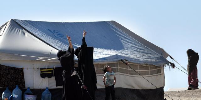 Groep Nederlandse IS-vrouwen uit Koerdisch kamp gevlucht