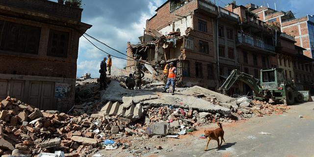 Zeker vijftien doden na aardverschuivingen Nepal
