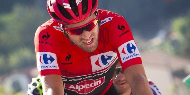 Dumoulin verliest leiderstrui Vuelta in voorlaatste rit aan Aru