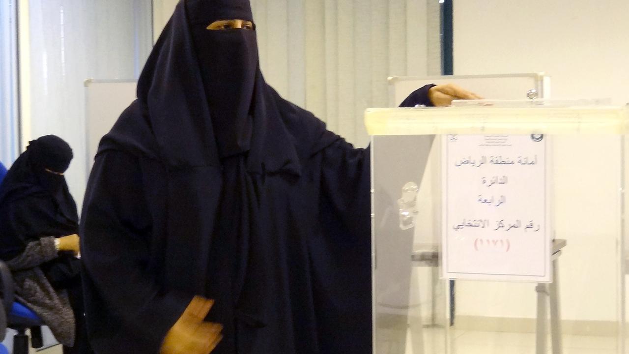 Vrouwen in Saudi-Arabië mogen stemmen