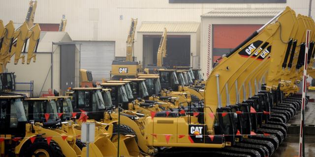 Machinebouwer Caterpillar schroeft verwachtingen op
