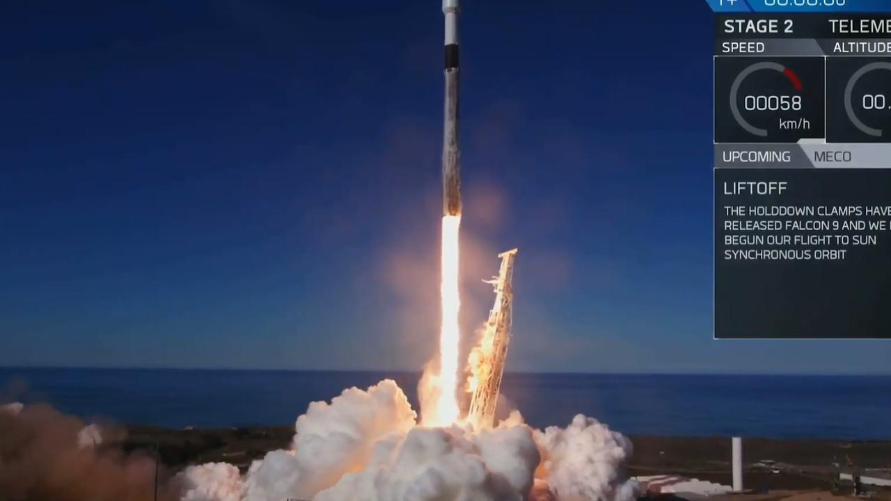 Eerste trap Falcon 9-raket van SpaceX voor derde keer geland