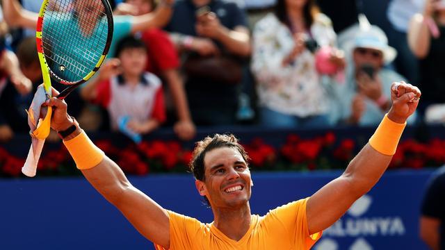 Nadal neemt tegen Goffin voorlaatste horde naar elfde titel in Barcelona