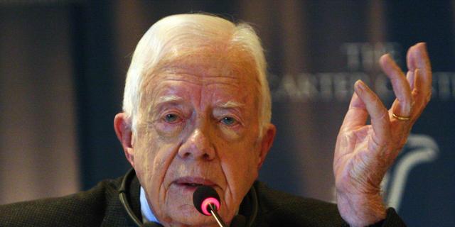 'Geen kanker meer geconstateerd bij oud-president Jimmy Carter'