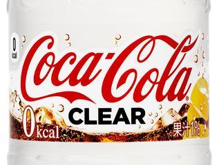Coca-Cola Clear bevat geen kilocalorieën en heeft subtiele smaak van citroen