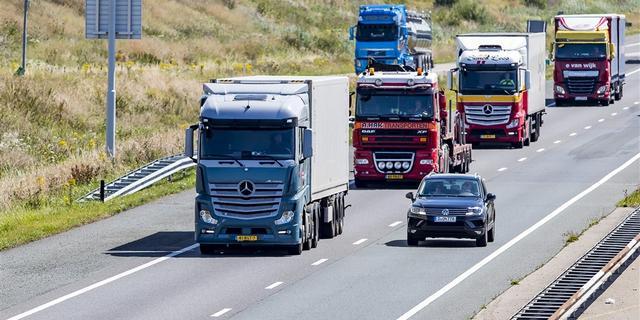 Alphen aan den Rijn gaat vervuilende vrachtwagens vanaf 2025 weren