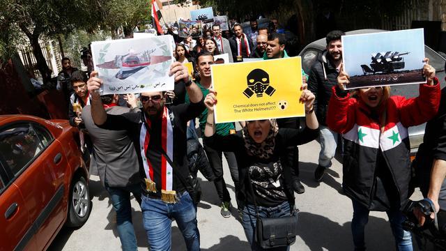 VN houdt luchtmacht Syrië verantwoordelijk voor aanval met gifgas