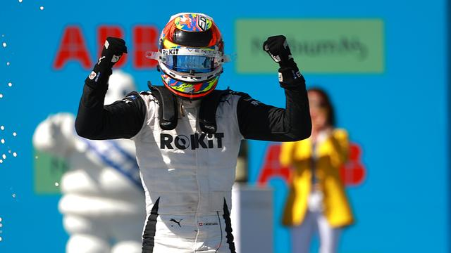 Edoardo Mortara ging met de overwinning aan de haal in Puebla.
