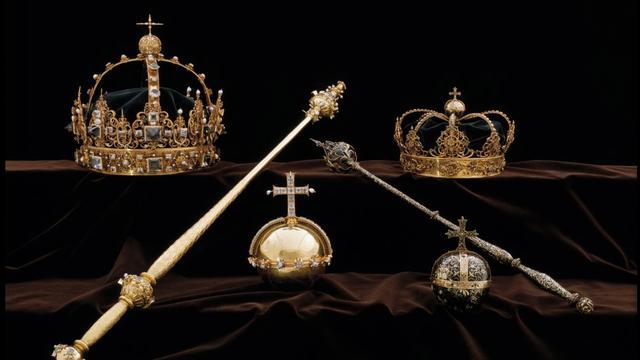 4,5 jaar cel voor diefstal eeuwenoude juwelen van Zweeds koningshuis