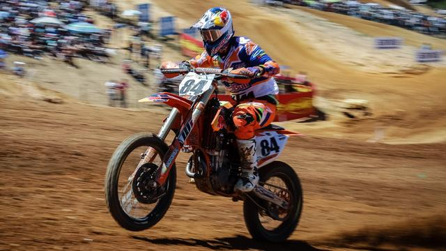 Motorcrosser Herlings wint Grand Prix van Zwitserland in MXGP