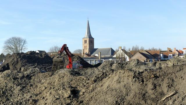 Asbest gevonden op oude Albert Heijn-locatie in Domburg