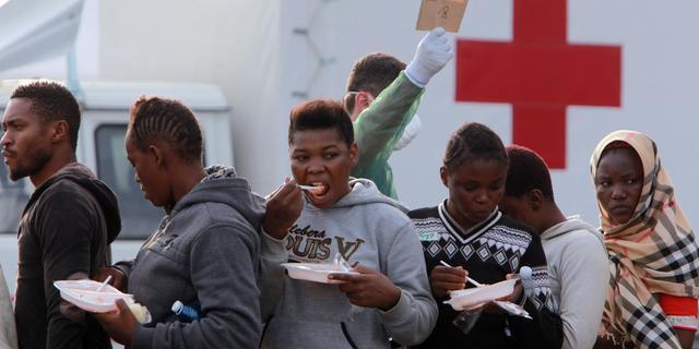 Duitse Rode Kruis bereidt hulp Grieken voor