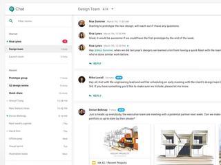 Dat wil de softwaregigant doen met Hangouts Chat en Hangouts Meet
