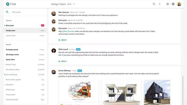 Google wil berichtendienst Hangouts als Slack-concurrent gaan inzetten