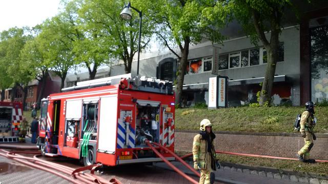 Grote brand in schoenenwinkel in Zuid-Hollandse Middelharnis