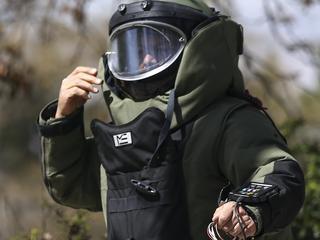 De Explosieven Opruimingsdienst Defensie  was snel ter plaatse