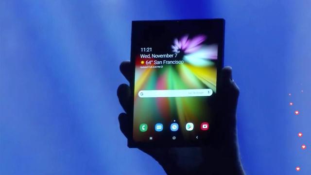Samsung toont opvouwbaar smartphonescherm