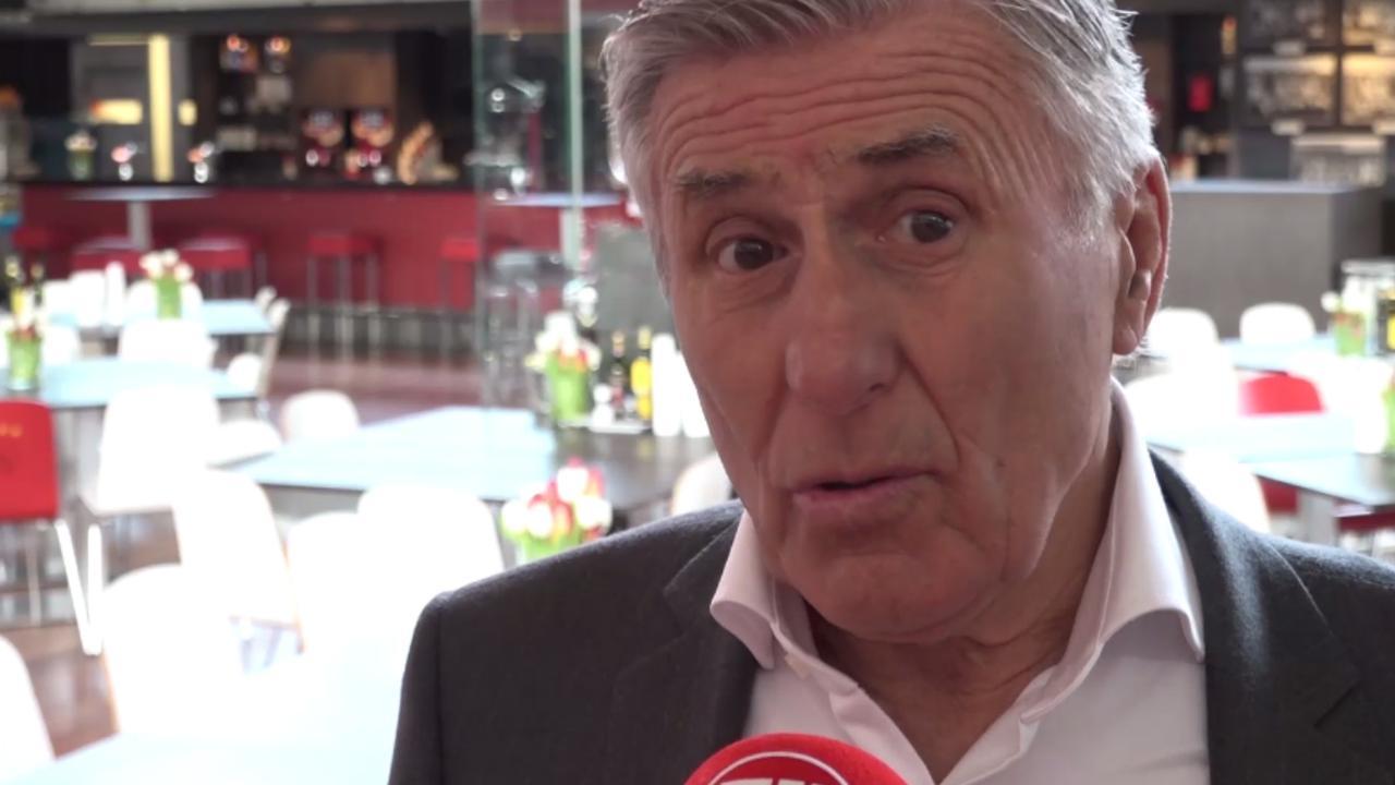 Sjaak Swart herdenkt Cruijff: 'Het is vandaag een rotdag'