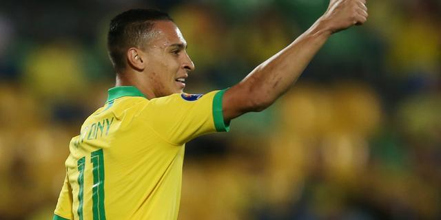 Antony mist voorbereiding bij Ajax door olympische selectie voor Brazilië