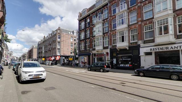 Touringcar rijdt over arm fietser in Van Woustraat