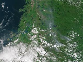 Vijf landen helpen Zweden bij bestrijden brand