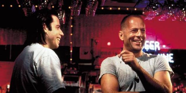 John Travolta en Bruce Willis 27 jaar na Pulp Fiction weer samen in film