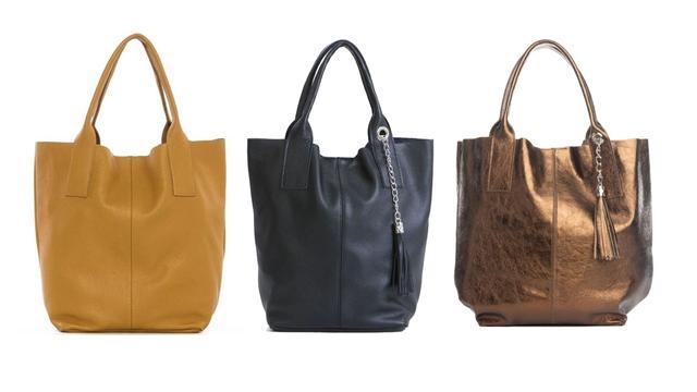 Pia Sassi Monte Cimone tas in verschillende kleuren van 249 voor 64,95 euro
