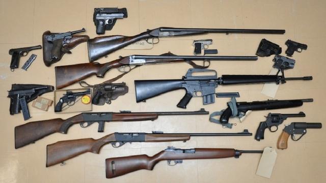 Wapeninleveractie politie Rotterdam al goed voor meer dan 100 wapens