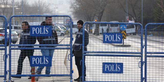 Turkije voorkomt achttien zelfmoordaanslagen