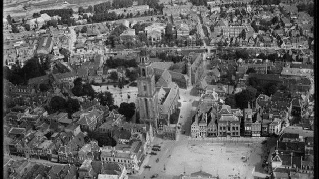 Zo zag Groningen er in de jaren twintig en dertig uit