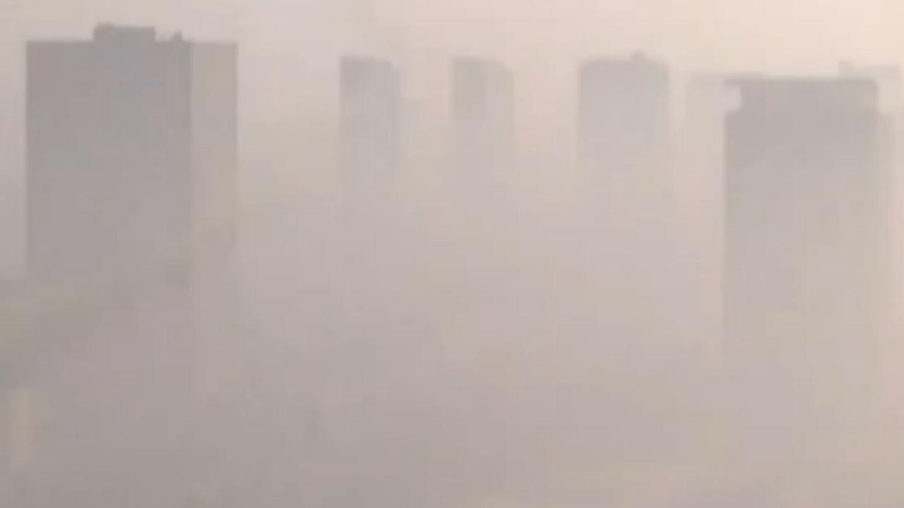 Peking last van dikke smog