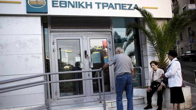 Griekse banken blijven dinsdag en woensdag dicht
