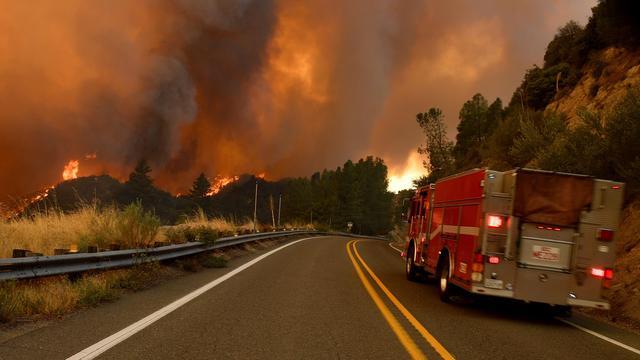 Al bijna 2 miljoen hectare land verwoest door natuurbranden VS