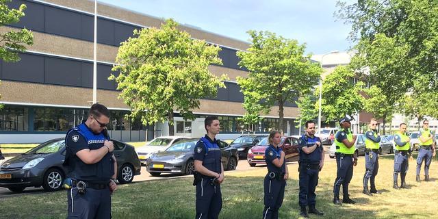 Boa's voeren actie in Den Haag voor betere bewapening