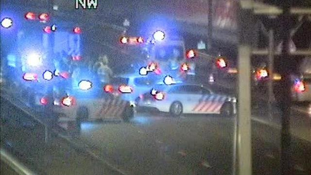 Bestuurder Ford veroorzaakte ongeluk A10 en Nieuwe Leeuwarderweg
