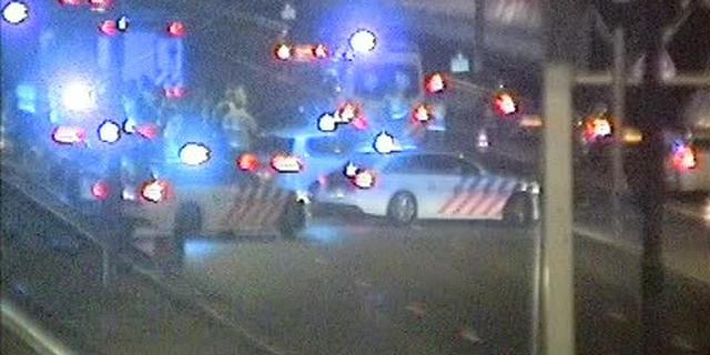 Twee gewonden na ongeluk op A10 met vier auto's