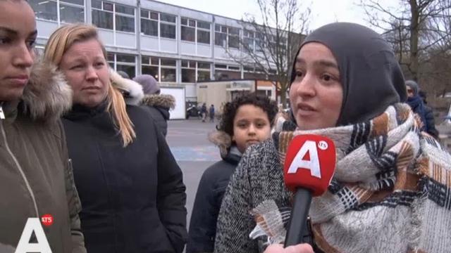 Bezorgde ouders bij basisschool Nieuw-West