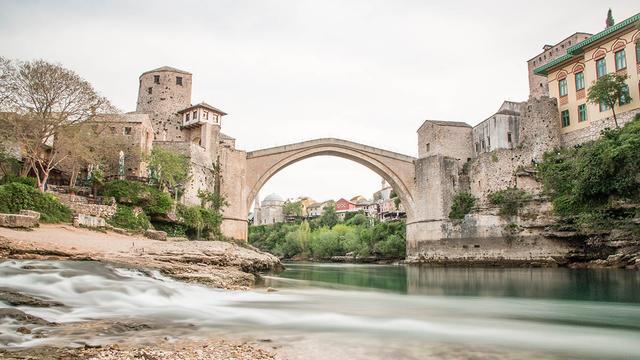 Jenny bezocht de zuidelijk gelegen stad Mostar.