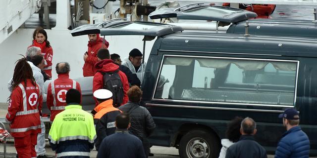 Zeker 64 doden op Middellandse Zee door schipbreuk vluchtelingenboot