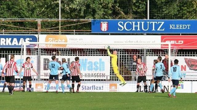 Derde verlies op rij voor Alphense Boys tegen Hollandia
