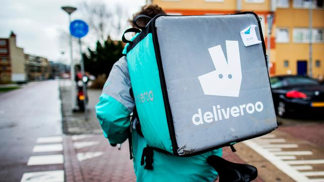 Amazon investeert in maaltijdbezorger Deliveroo