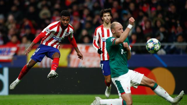 'Europese topclubs willen Lemar van Atlético Madrid'