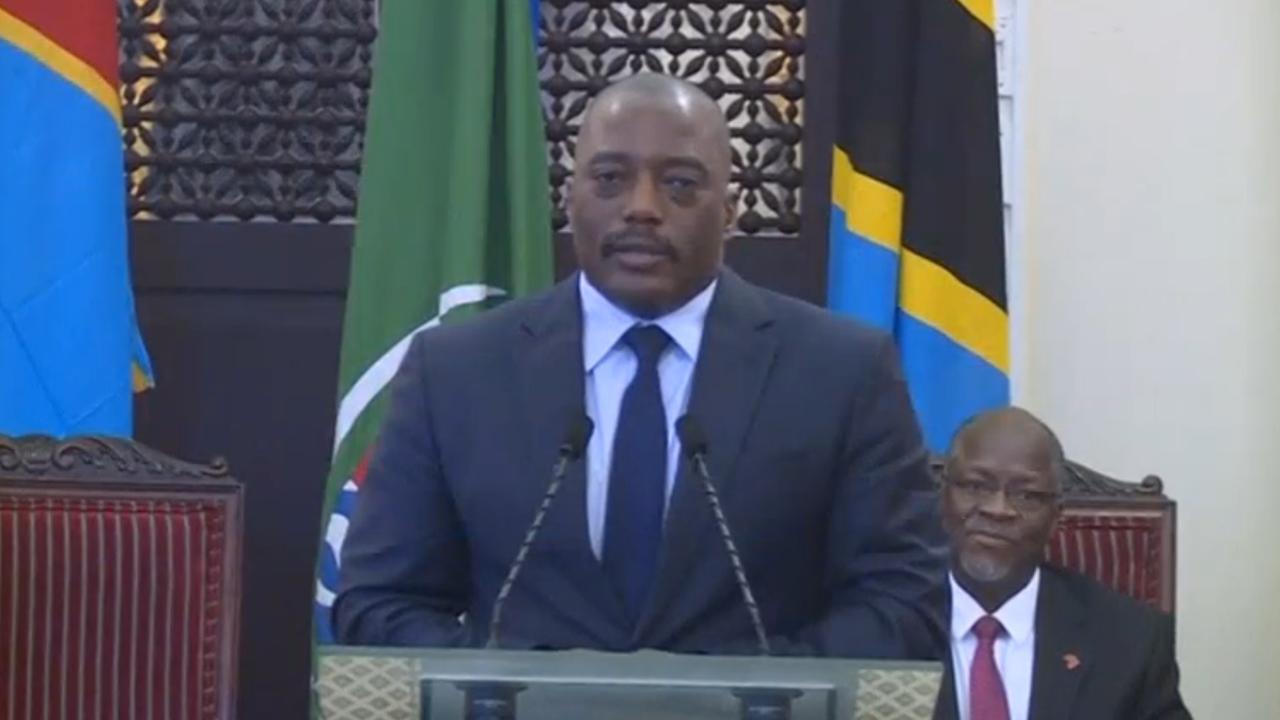 President Congo stelt verkiezingen uit