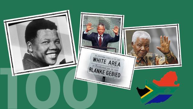 Nelson Mandela '100' geworden: Zijn leven in beeld