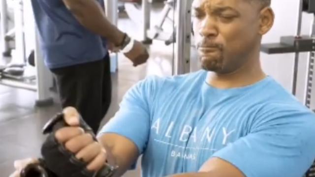 Will Smith traint spieren om 'fitter te worden dan ooit'