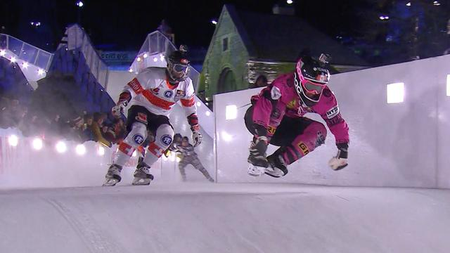 Kan extreme sport Crashed Ice olympisch worden?