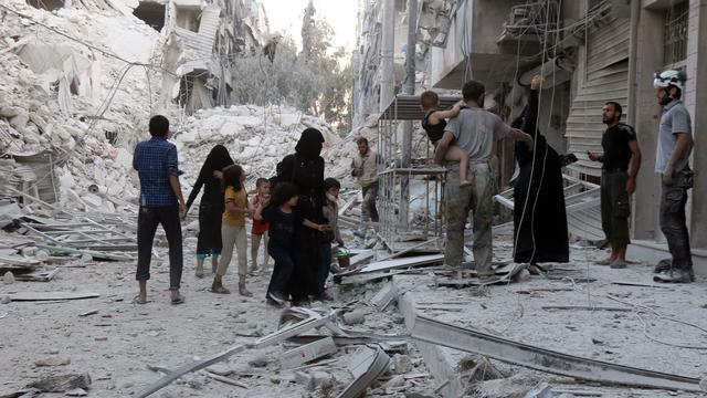 'Zware bombardementen op Aleppo eisen 91 doden'